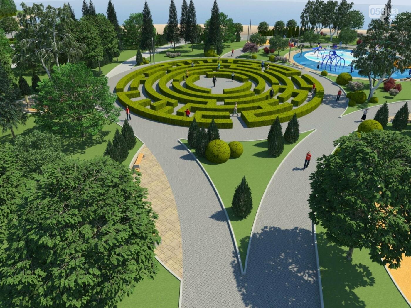 Новый парк в Днепре: какой будет Набережная Победы после реконструкции, фото-8