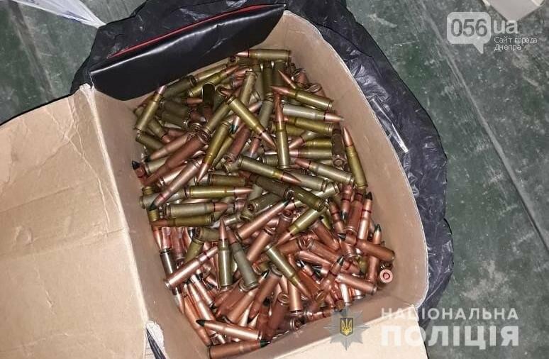 У жителя Днепра в гараже обнаружили склад оружия и боеприпасов, - ФОТО, фото-2