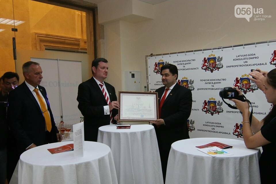 В Днепре открыли почетное консульство Латвийской республики, - ФОТО, фото-2
