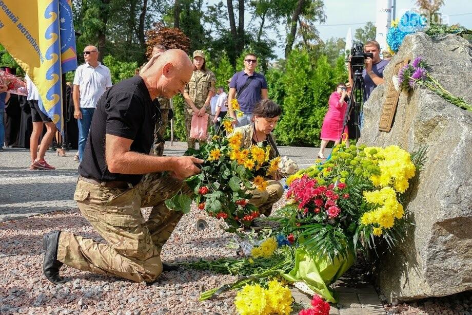 В Днепре почтили память военных, погибших под Иловайском, - ФОТО, фото-3