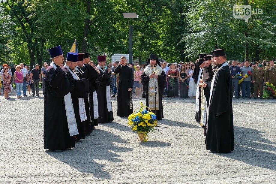 В Днепре почтили память военных, погибших под Иловайском, - ФОТО, фото-8