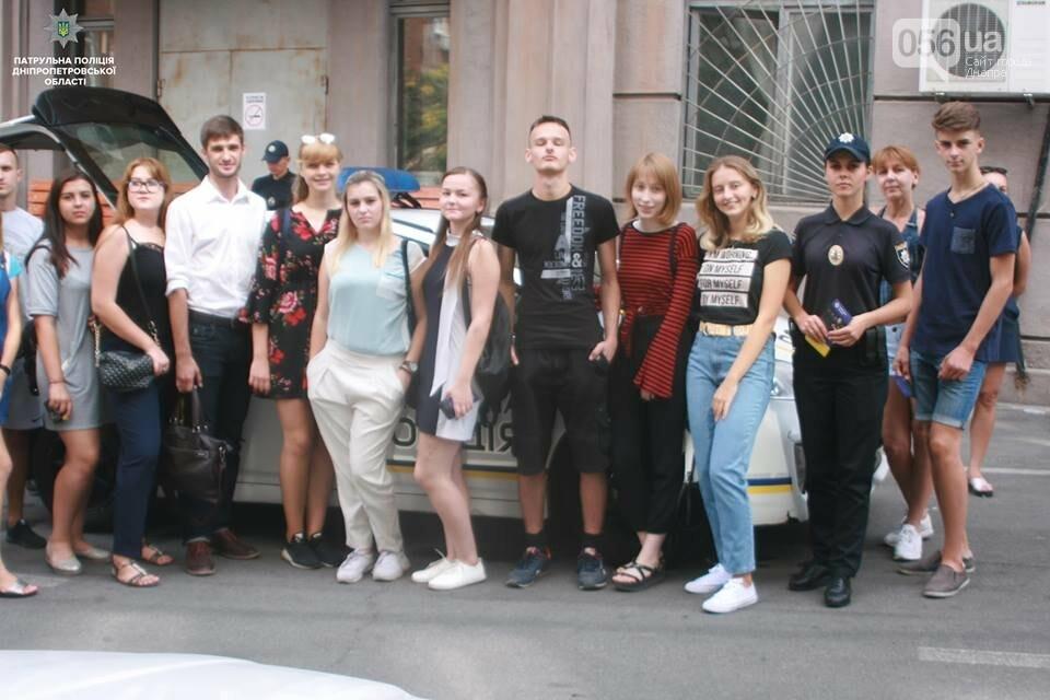 В Днепре патрульные провели экскурсии в своем управлении для жителей города, - ФОТО, фото-4