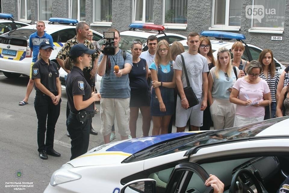В Днепре патрульные провели экскурсии в своем управлении для жителей города, - ФОТО, фото-2