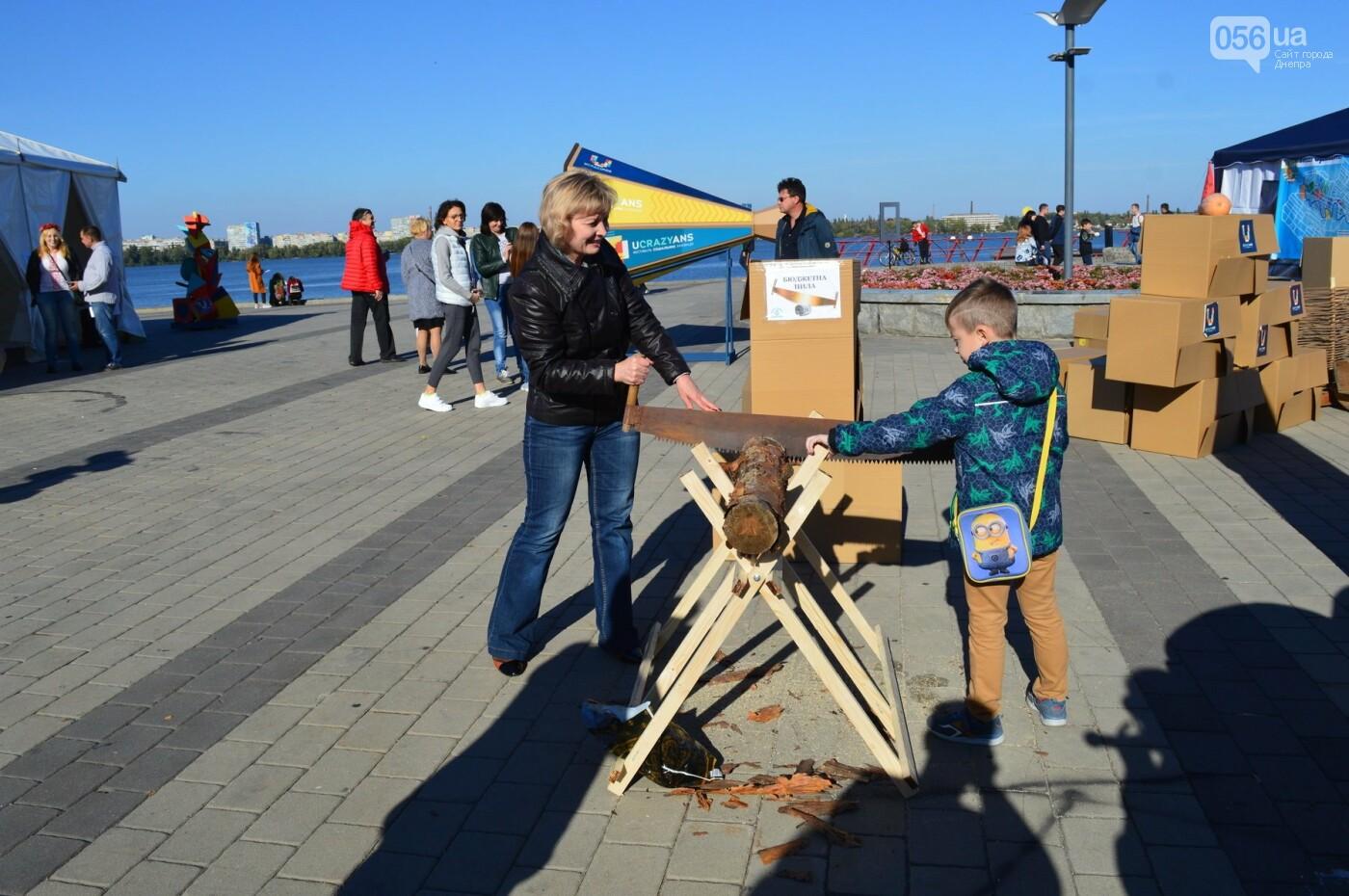 Группа 5'nizza, экстремали, роботы и «сладкий бюджет»: как в Днепре прошел фестиваль общественных инициатив UCRAZYANS, - ФОТО, фото-9