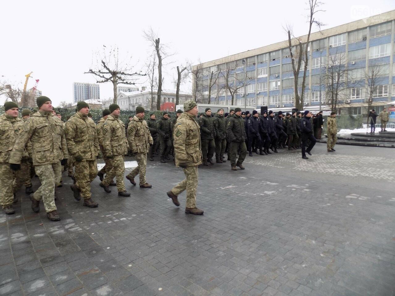 Выстрелы, военный оркестр и парад: как в Днепре проходит День памяти Героев Крут, - ФОТОРЕПОРТАЖ, фото-3