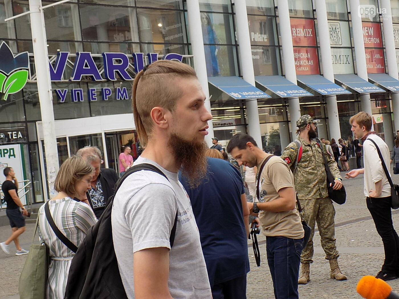 """Мова єднає Дніпро"": в центре города прошла символическая акция с концертом и подарками, - ФОТО, фото-5"
