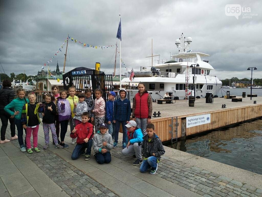 За підтримки Юрія Берези діти волонтерів та військових відвідали Швецію, фото-3