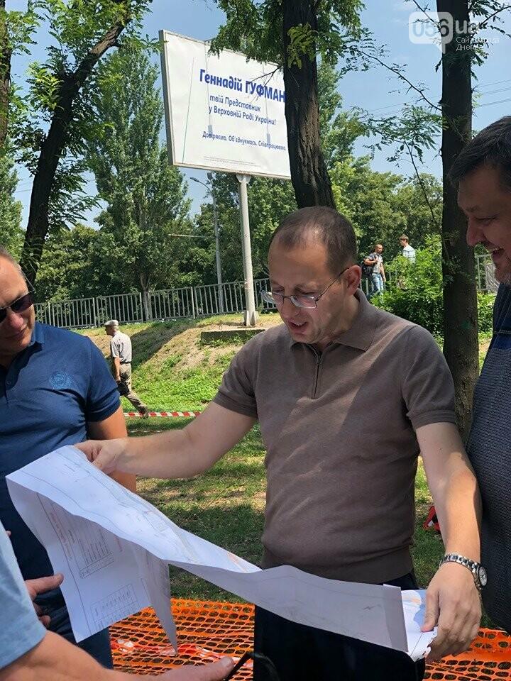 Геннадий Гуфман: «Аллея вдоль Запорожского шоссе станет первой частью зеленого каркаса жилмассива Тополь», фото-6