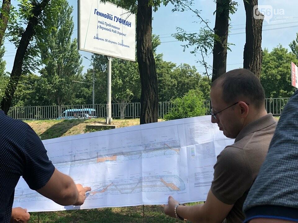 Геннадий Гуфман: «Аллея вдоль Запорожского шоссе станет первой частью зеленого каркаса жилмассива Тополь», фото-7