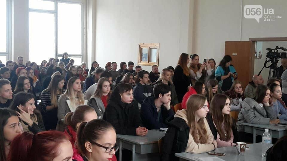 Виталий Портников встретился со студентами и общественностью Днепра, фото-5