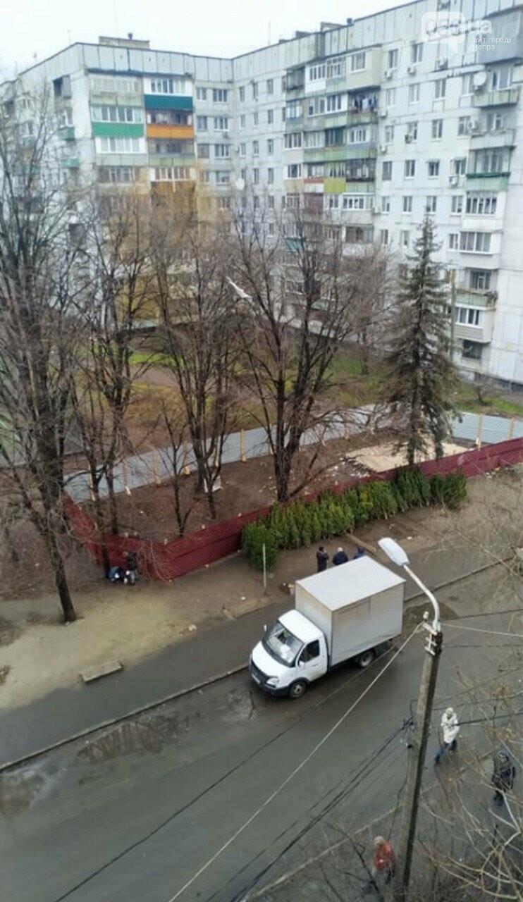 Днепряне требуют запретить вырубку деревьев в сквере им. Янгеля, фото-1