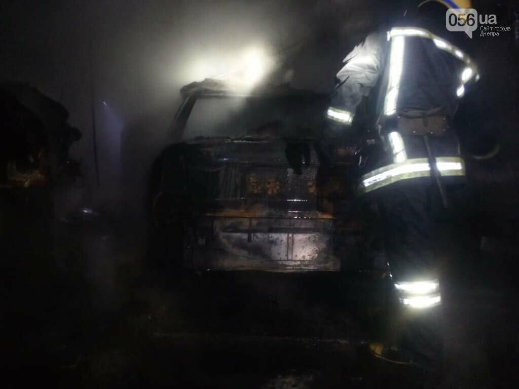 На Днепропетровщине горел гараж с автомобилем, - ФОТО, ВИДЕО, фото-5