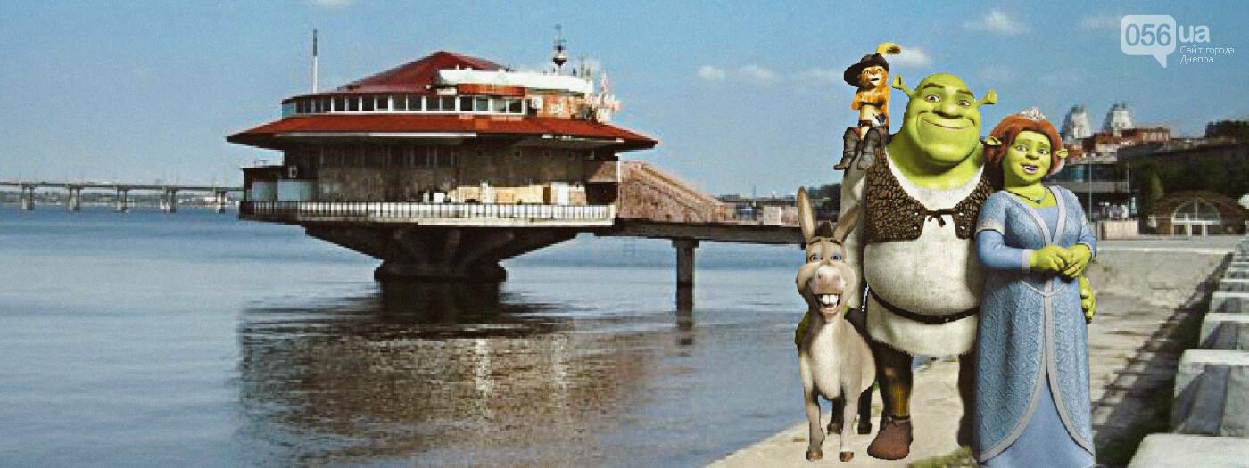Вин Дизель на Караване и Шрек на набережной: что бы делали известные киногерои в Днепре , фото-2