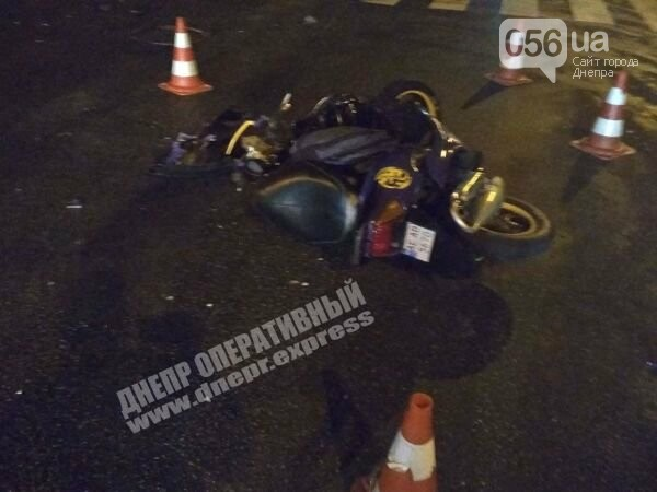 На Калиновой в Днепре сбили мотоциклиста, - ФОТО, фото-1