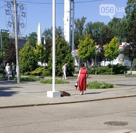 В Днепре появилась исчезающая плита имени Бориса Филатова, фото-2