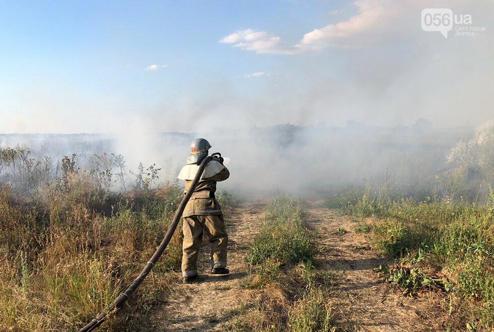 За ночь на Днепропетровщине потушили 68 возгораний в лесах и полях, - ФОТО, фото-2