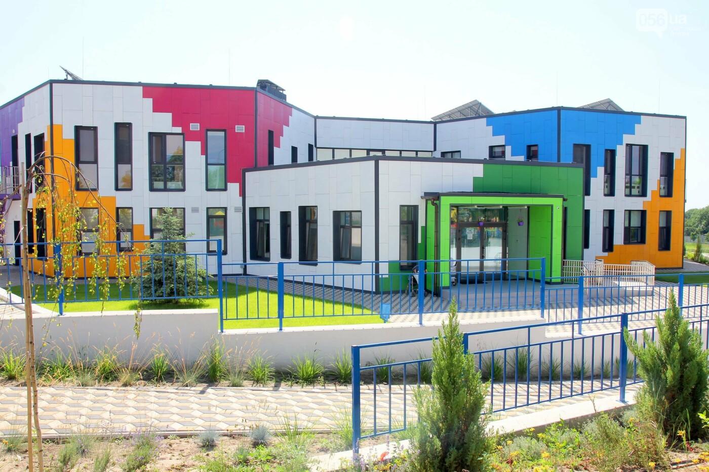 Будівництво дитячого садка в смт Іларіонове Синельниківського району Дніпропетровської області