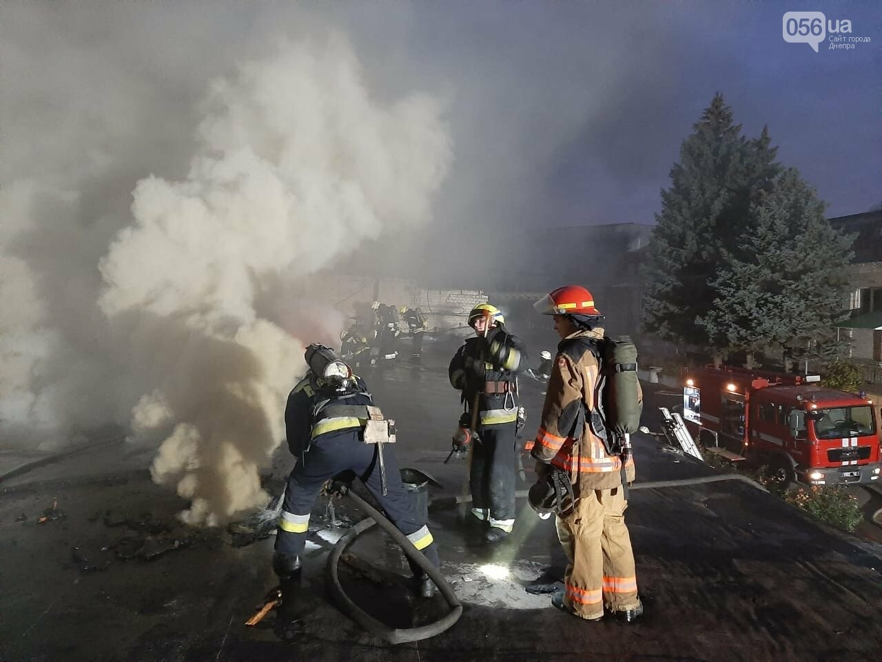 В Днепре горел агрегатный завод, - ФОТО , фото-2