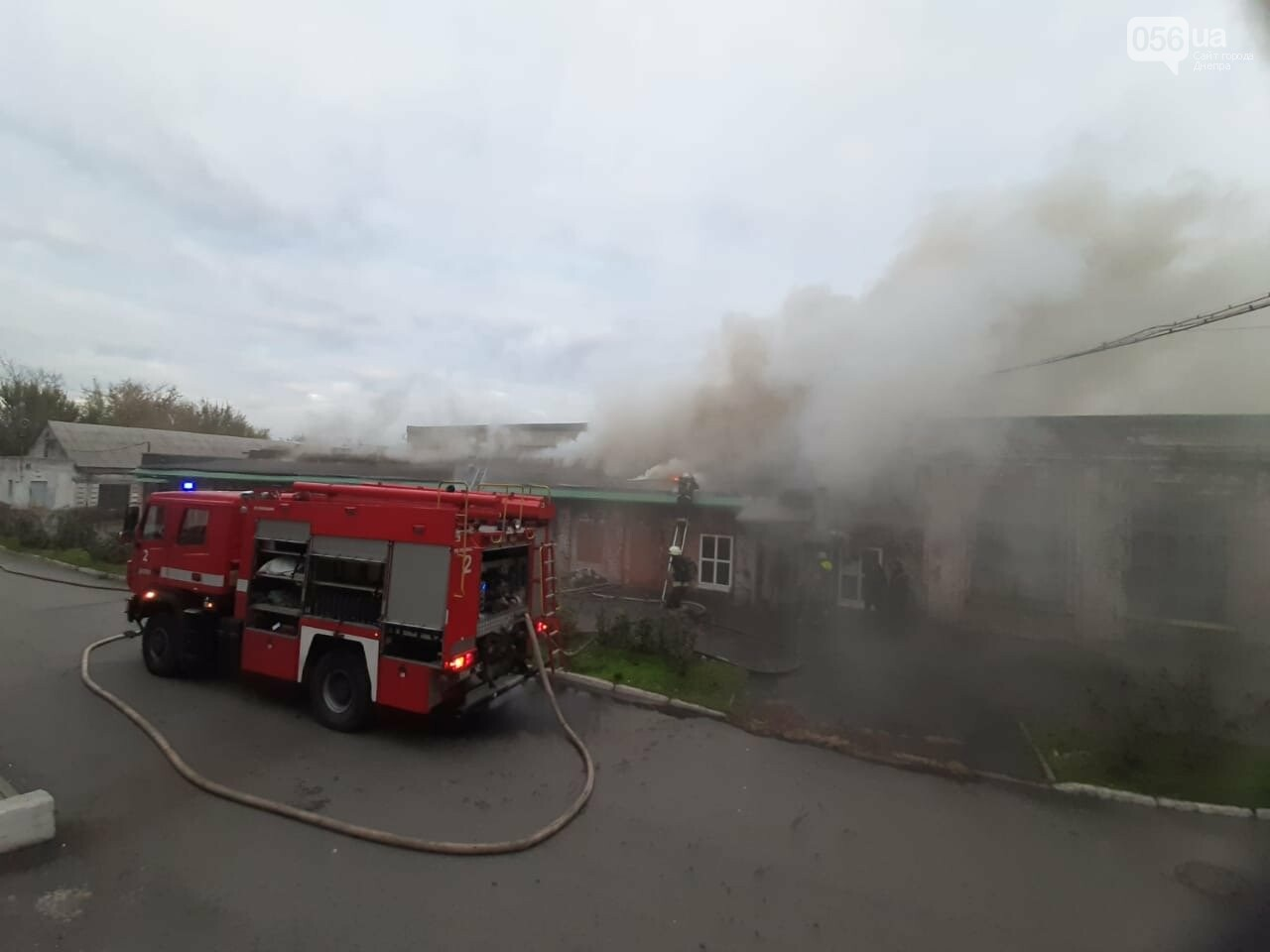 В Днепре горел агрегатный завод, - ФОТО , фото-1