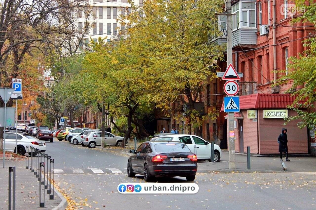 В центре Днепра перед приподнятым пешеходным переходом установили новые знаки, - ФОТО, фото-1