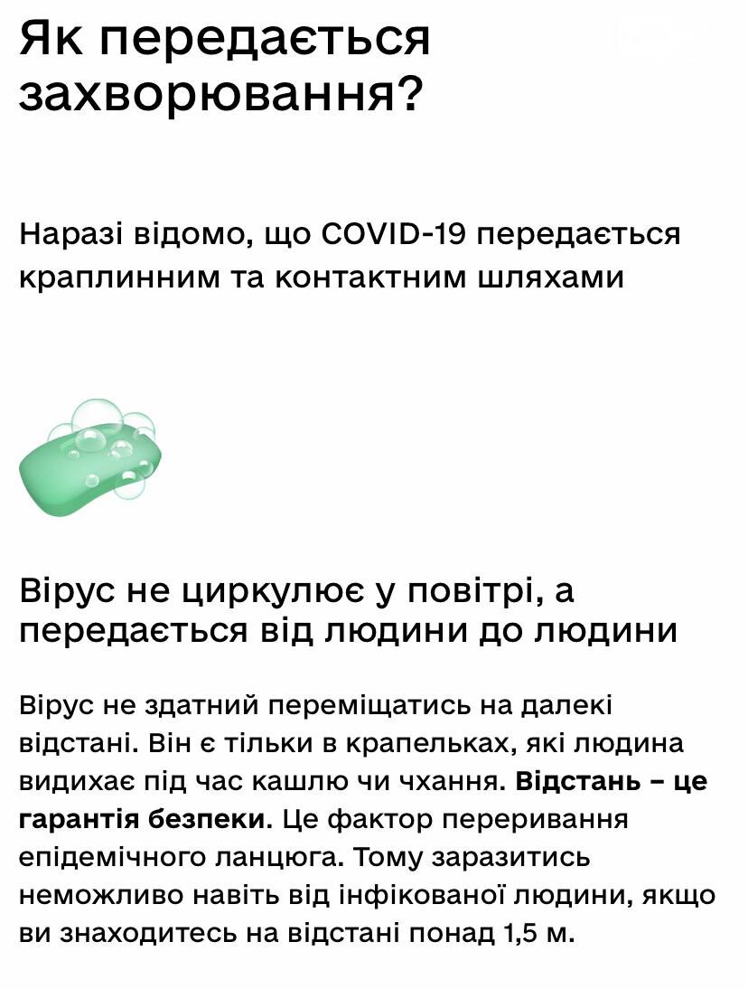 Как передаётся коронавирус, согласно МОЗ