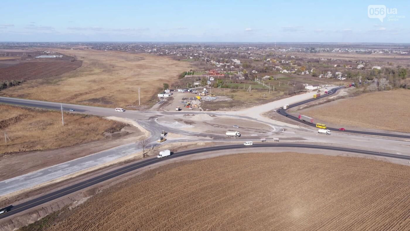 Строительство кольцевой развязки на трассе H-31