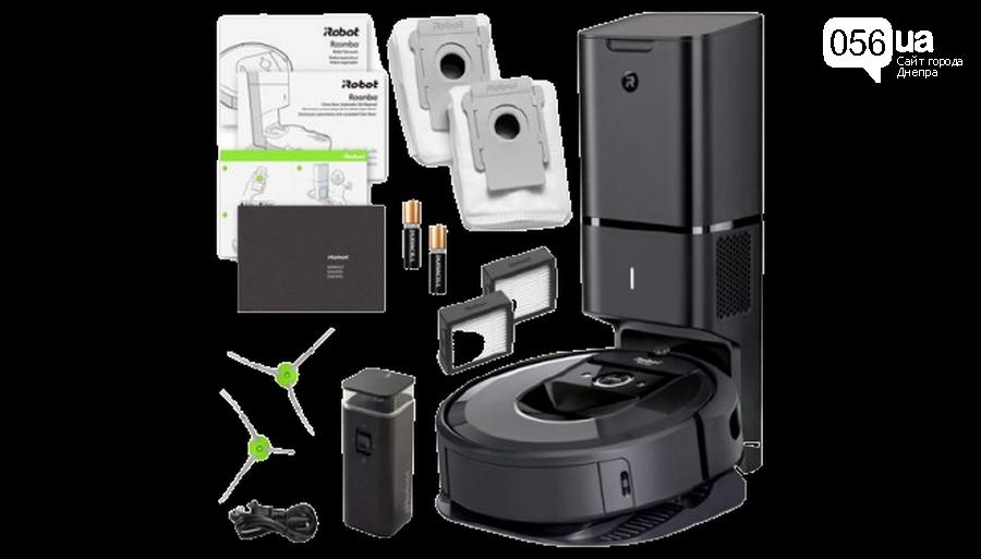 Пылесос iRobot Roomba i7 Plus, получаем удовольствие от каждой уборки, фото-1