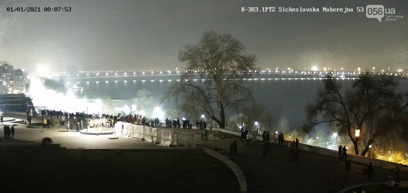 Днепряне на смотровой площадке в парке Шевченко