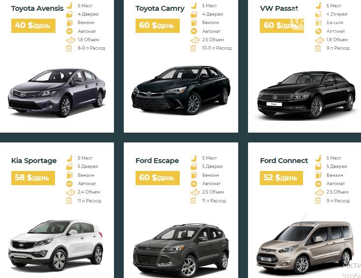 Аренда машины в Днепре: сравнение цен и предложений популярных сервисов, фото-4