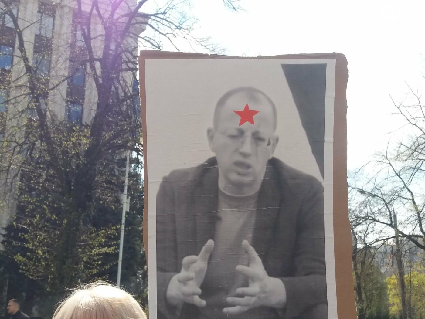 Днепровские активисты требуют лишить депутатского мандата и должности Геннадия Гуфмана: реакция политика, фото-6