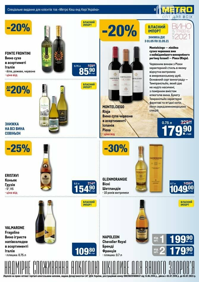 Майские акции и скидки в супермаркетах Днепра, фото-36