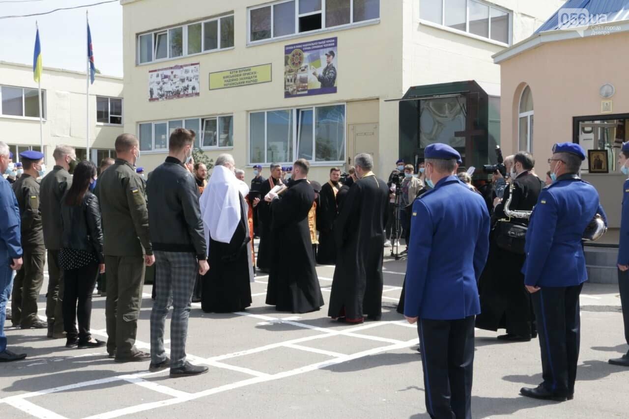 В Днепре Национальная гвардия на территории своей части открыла часовню, - ФОТО, фото-1