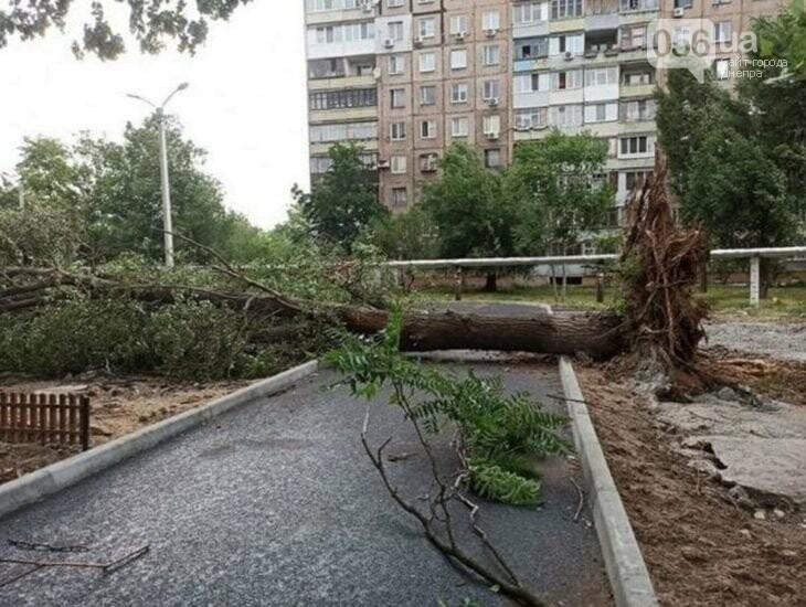В Днепропетровской области непогода перевернула фуру, а в соседней – насыпала «пельменей», фото-2
