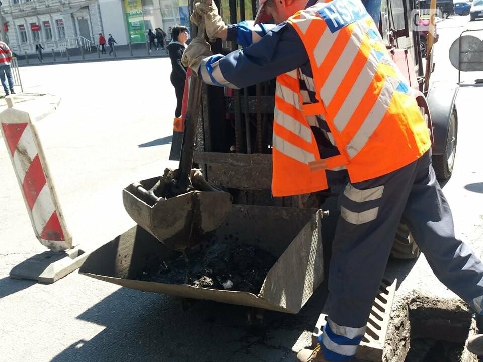 В Днепре после объявления штормового предупреждения коммунальщики прочистили все ливневки в городе, - ФОТО, ВИДЕО, фото-5