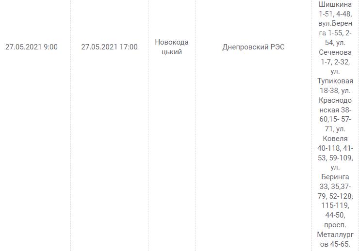 Отключения света в Днепре завтра: график на 27 мая, фото-3
