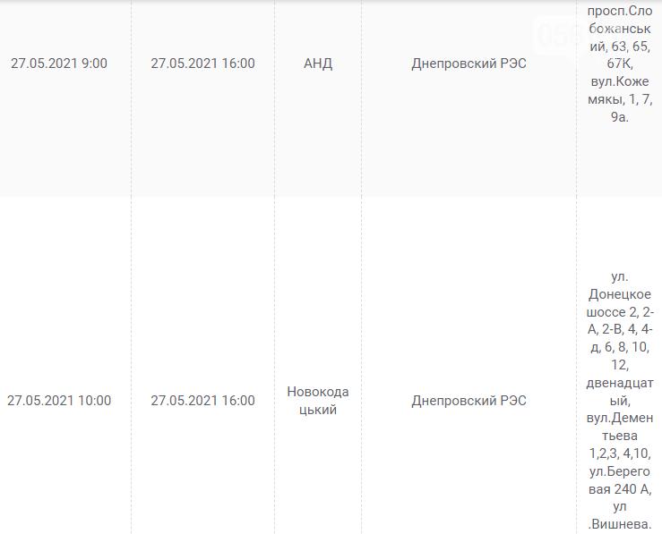 Отключения света в Днепре завтра: график на 27 мая, фото-4