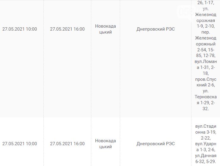 Отключения света в Днепре завтра: график на 27 мая, фото-7