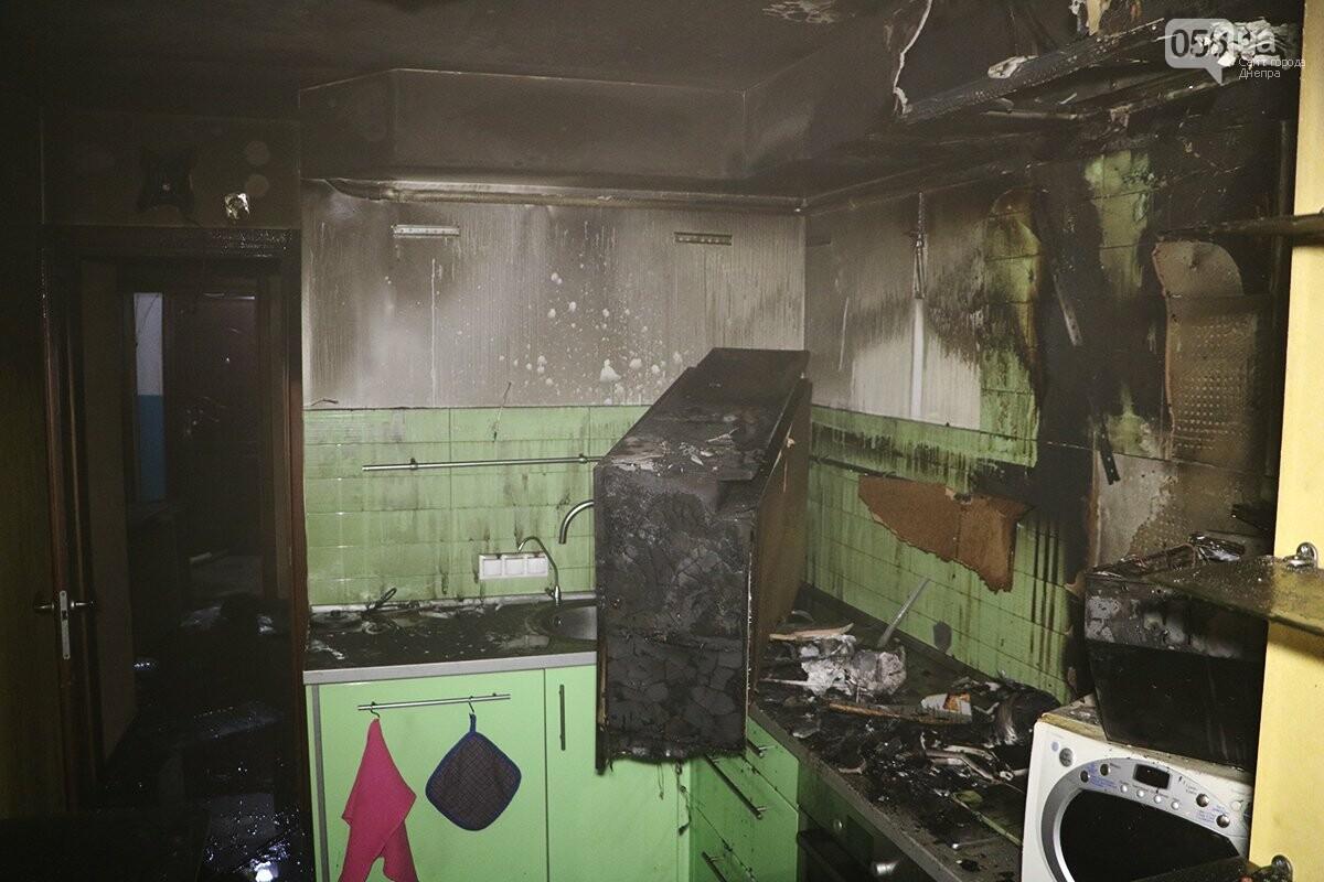 В Днепре ликвидировали пожар в одной из квартир многоэтажки, - ФОТО. ВИДЕО, фото-4