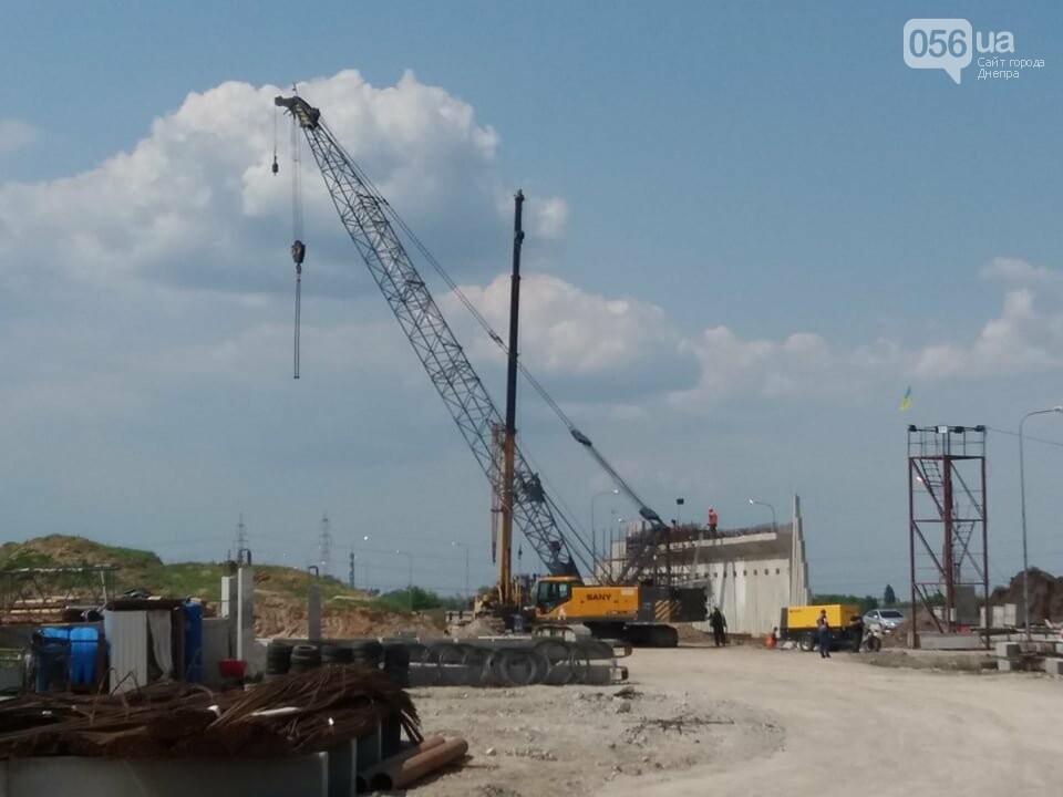 Большая стройка: под Днепром на объездной дороге сводят двухуровневую развязку, - ФОТО, ВИДЕО, фото-12