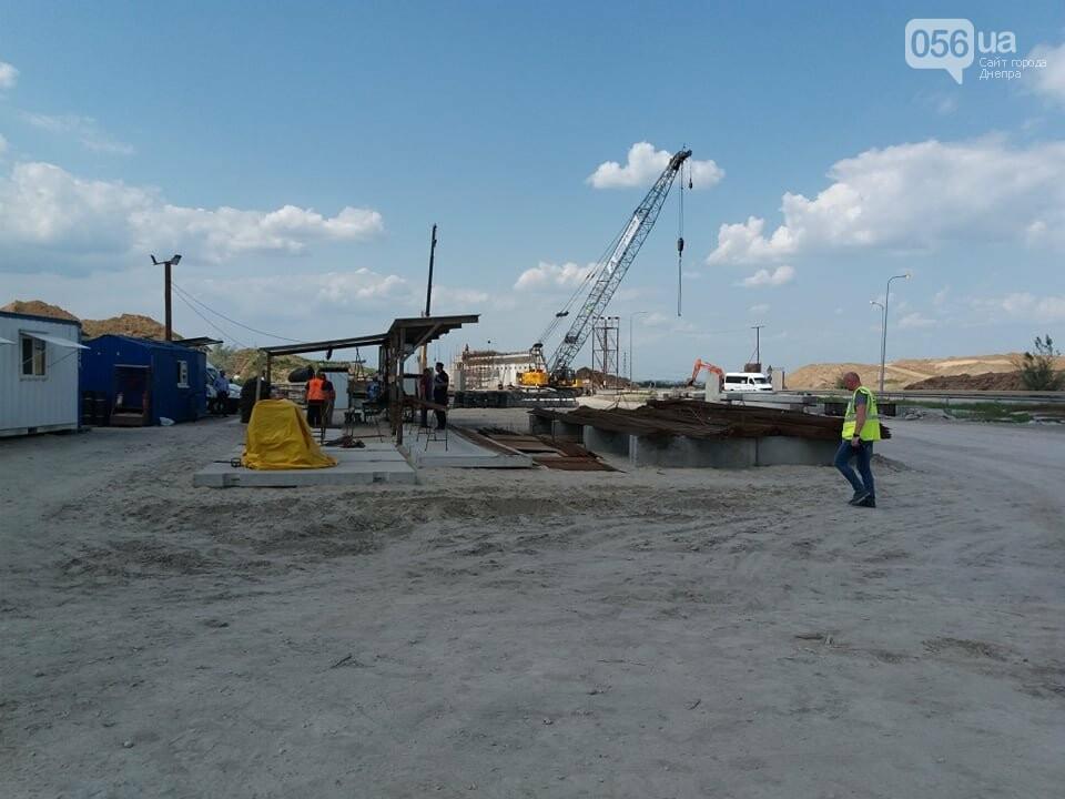 Большая стройка: под Днепром на объездной дороге сводят двухуровневую развязку, - ФОТО, ВИДЕО, фото-11