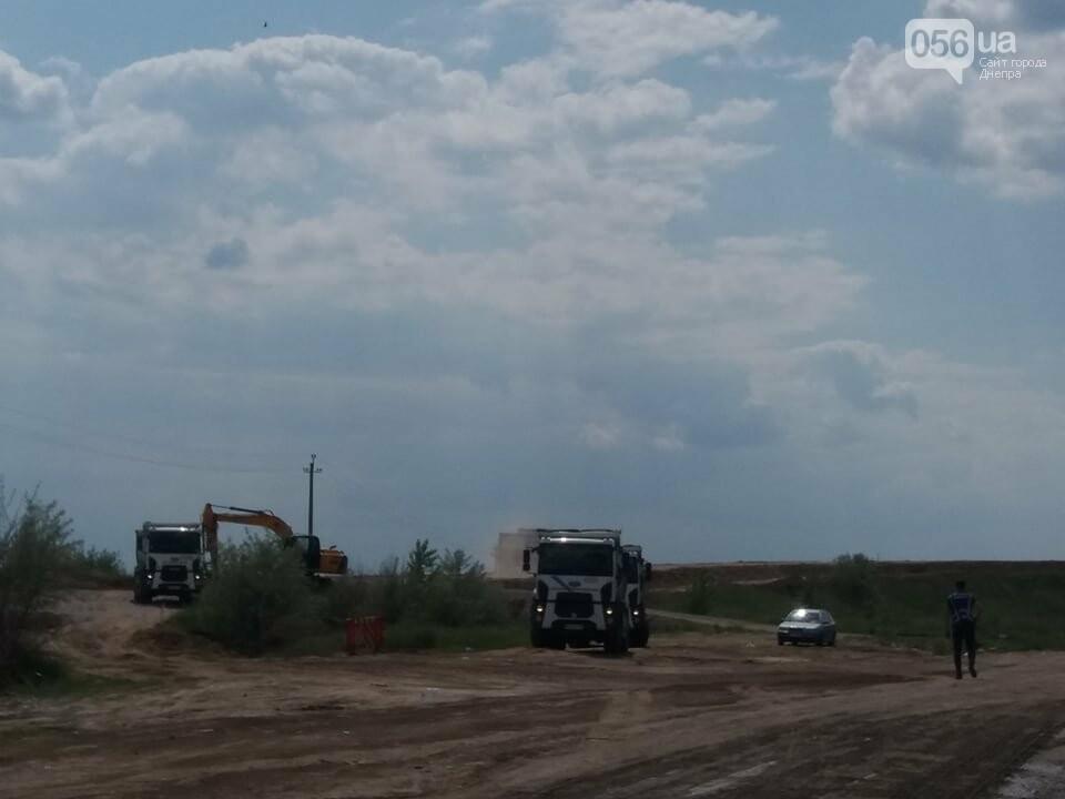 Большая стройка: под Днепром на объездной дороге сводят двухуровневую развязку, - ФОТО, ВИДЕО, фото-5