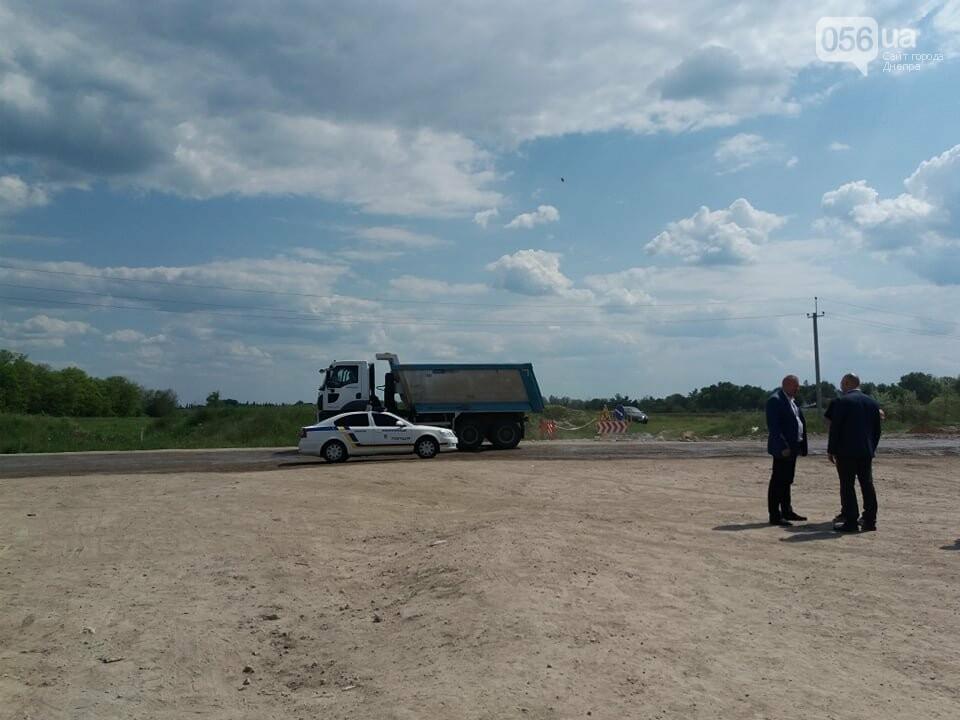 Большая стройка: под Днепром на объездной дороге сводят двухуровневую развязку, - ФОТО, ВИДЕО, фото-7