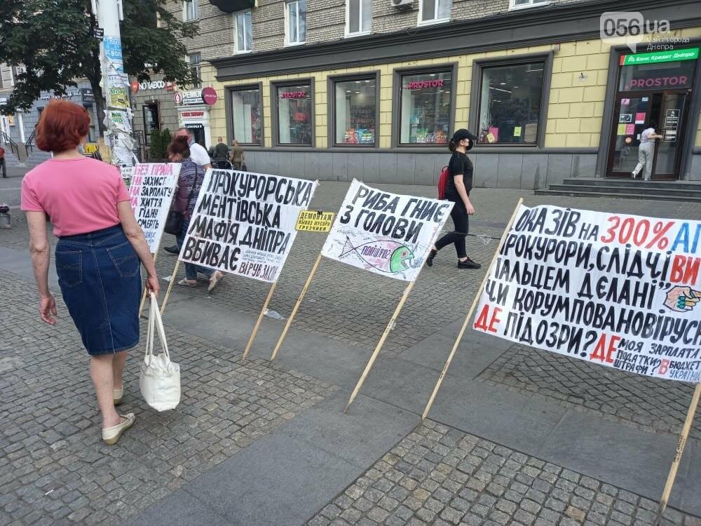 В Днепре пенсионер вышел на пикет и утверждает, что Зеленский ему должен полмиллиона, фото-4