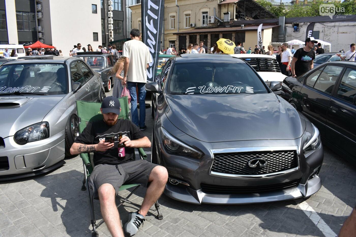 Чтобы померяться тюннингами в Днепр съехались водители с разных уголков Украины, - ФОТО, ВИДЕО, фото-7