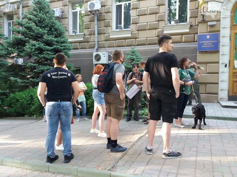 В Днепре вышли на очередную акцию в поддержку Стерненко, - ФОТО, ВИДЕО, фото-9
