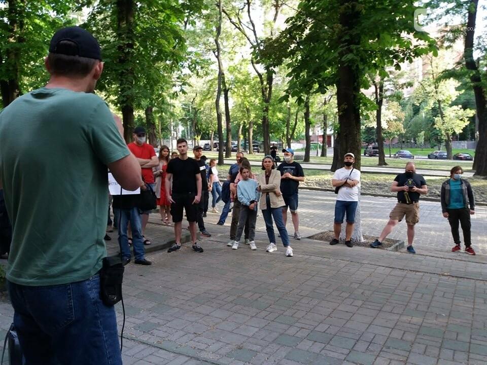 В Днепре вышли на очередную акцию в поддержку Стерненко, - ФОТО, ВИДЕО, фото-12