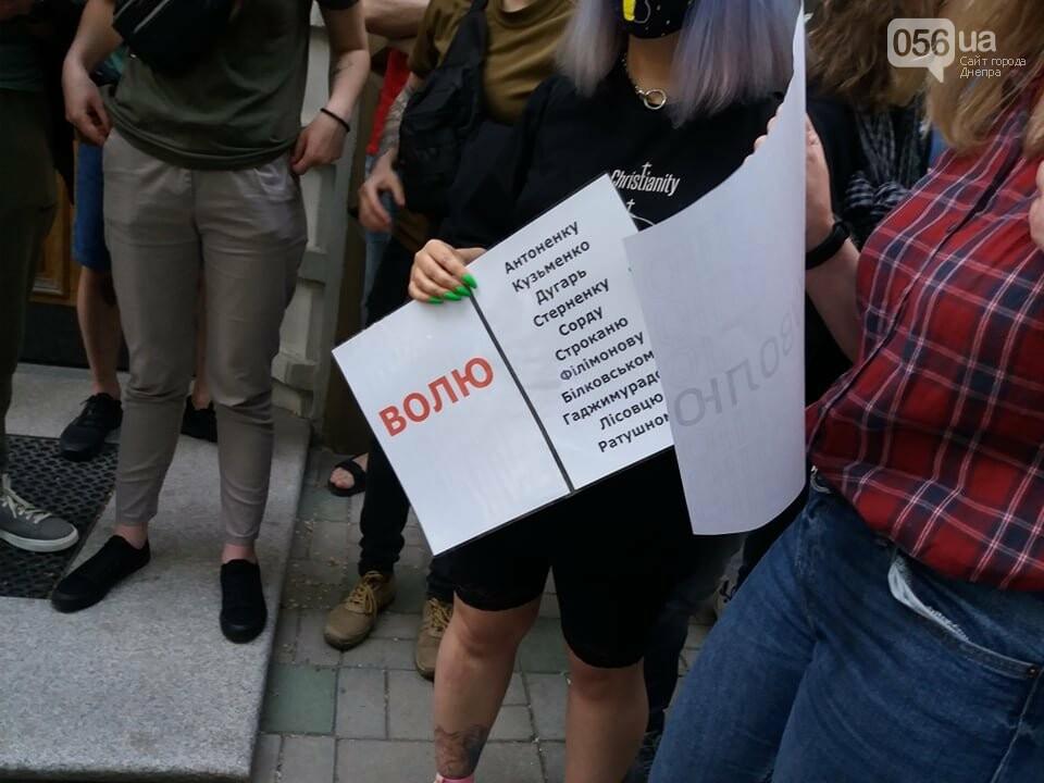 В Днепре вышли на очередную акцию в поддержку Стерненко, - ФОТО, ВИДЕО, фото-11