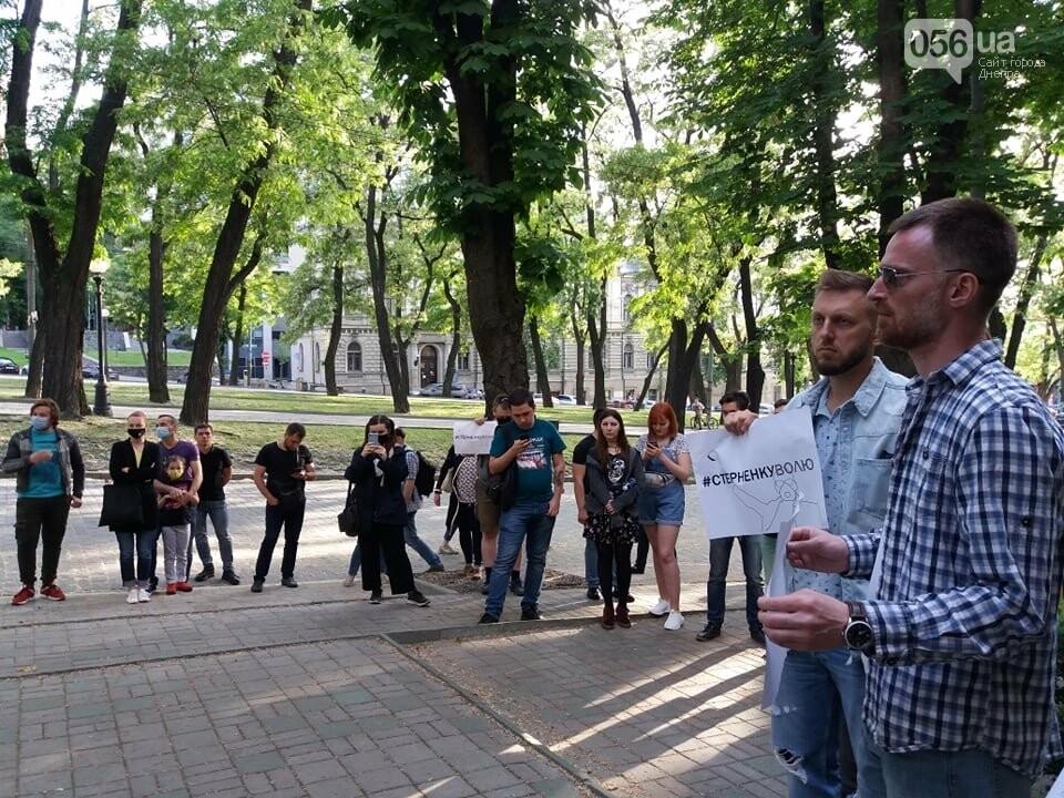 В Днепре вышли на очередную акцию в поддержку Стерненко, - ФОТО, ВИДЕО, фото-6