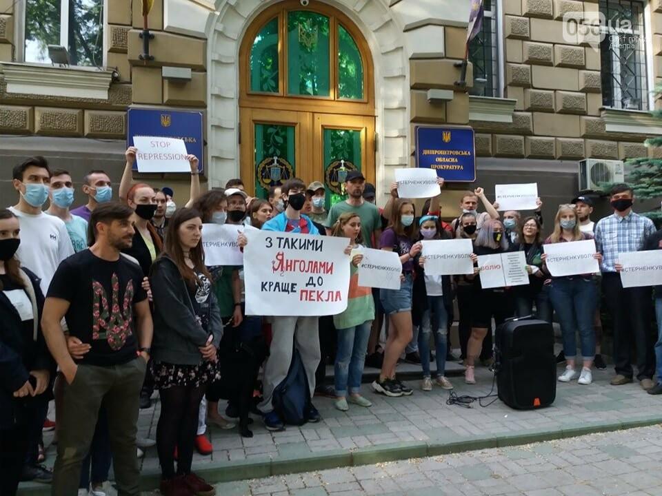 В Днепре вышли на очередную акцию в поддержку Стерненко, - ФОТО, ВИДЕО, фото-5