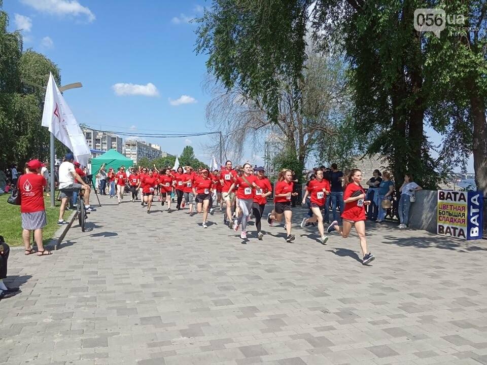 В Днепре Фестивальный причал стал красным, - ФОТО, ВИДЕО, фото-16